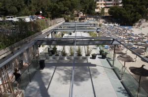 Hochzeitslocation Mallorca Beachclub mit Strand und Dinner Open Air