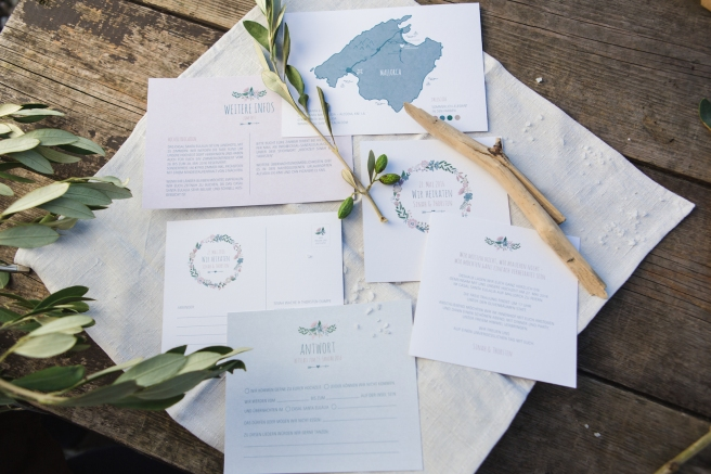 Hochzeitseinladungen Mallorca Hochzeitsplanerin heiratet_2