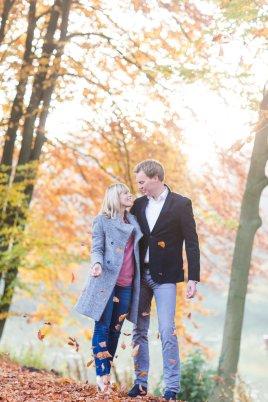 Hochzeitsplanerin heiratet Verlobungsshooting Herbst Hochzeit auf Mallorca