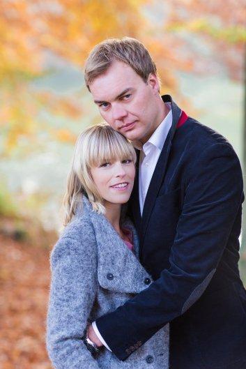 Hochzeitsplanerin heiratet Verlobungsshooting Herbst Sinah Wache und Thorsten