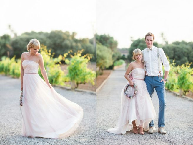 Hochzeitsplanerin heiratet Mallorca Hochzeit Brautpaar Liebe Golden Hour
