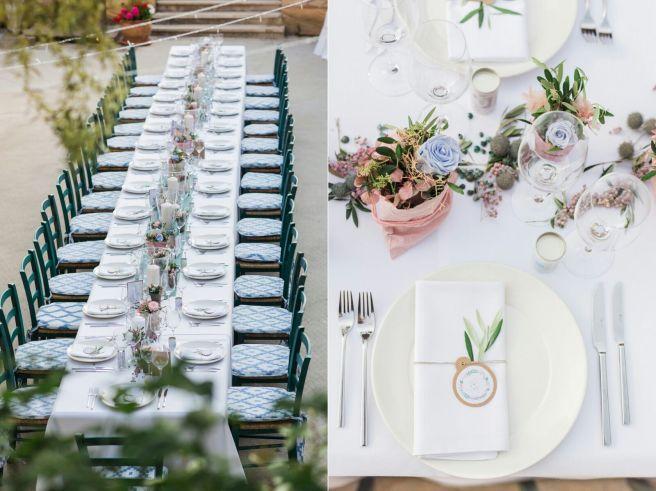 Hochzeitsplanerin heiratet Mallorca Hochzeit Tischdekoration